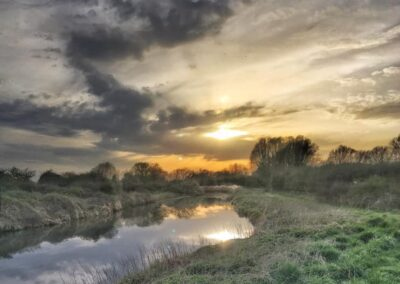 Titchmarsh Nature Reserve – Circular Walk from Aldwinkle 2.6 miles